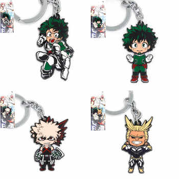 new 100 pcs/lot Piece My Hero Academia keychain pendant dolls Boku no Hiro alloy Gift Figure Keychain DHL shipping - SALE ITEM - Category 🛒 Toys & Hobbies