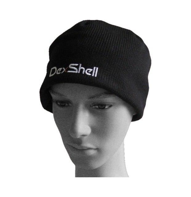 Черные униформа спорт на шапочка Hat водонепроницаемый ветрозащитный + дышащий + теплый + Coolvent облегченная Dexshell DH332