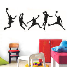 KAKUDER Wall Stickers Decoration For Kids Room DIY Family Home Wall Sticker Basketball Jordan Wall Sticker Art Room Decor MAR12(China)