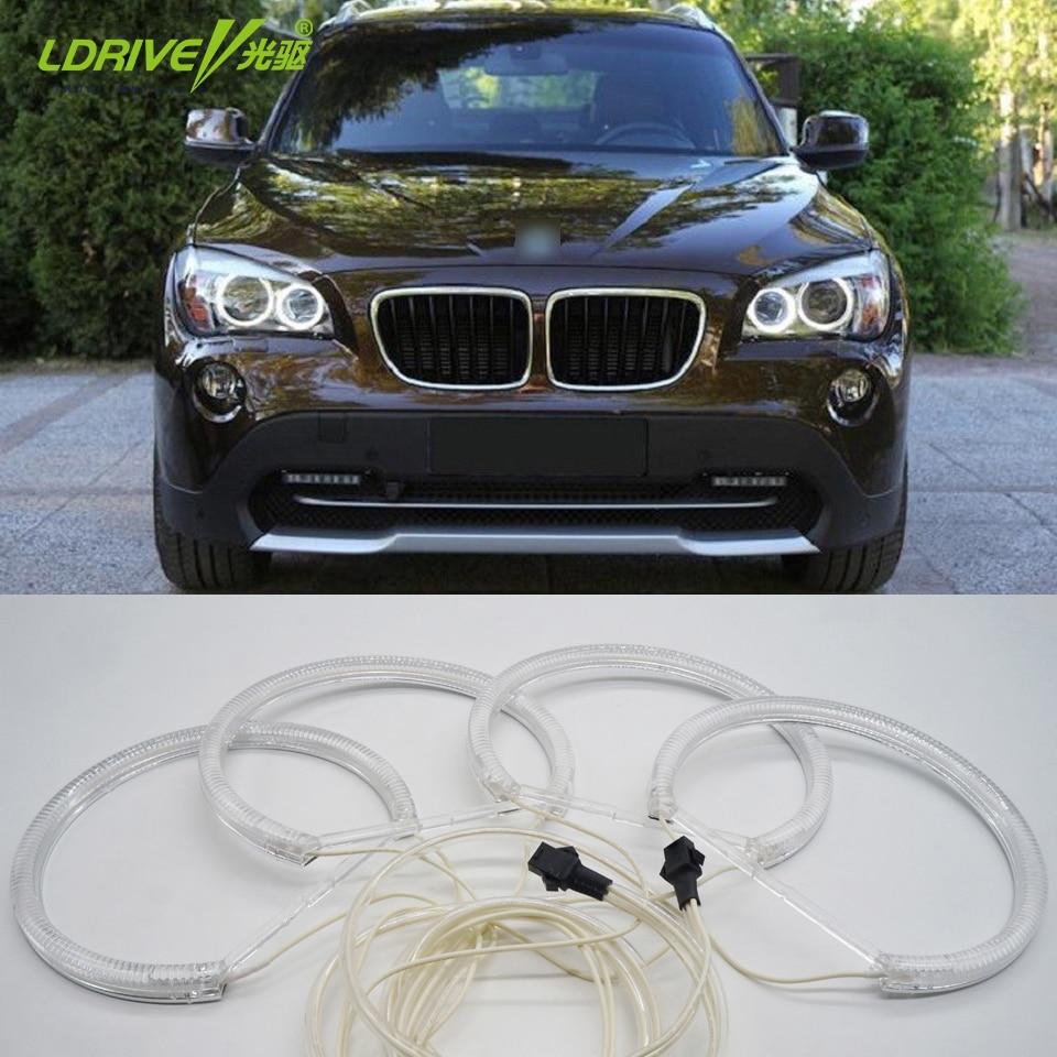Висока светла 4к131мм ЦЦФЛ12В ЛЕД бела - Светла за аутомобиле