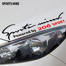 Sports Mind Car Styling On Car Lamp Eyebrow sport e