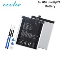 ocolor For UMI Umidigi Z2 Battery 3850mAh High Capacity Long Standby Time +Tools For UMI Umidigi Z2 Special Edition Battery