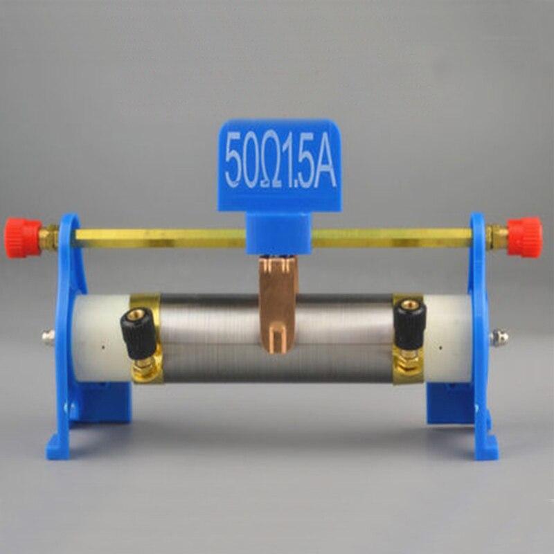 Equipamento do experimento da física do ensino médio júnior corrediça magnética rheostat instrumento de demonstração física e elétrica