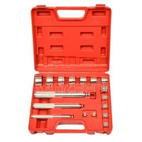 Bearing Race Seal Bush Driver Set Tool Kit Aluminium Mm 17pc