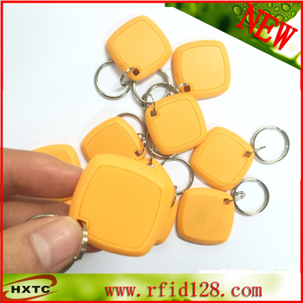 100pcs/lot 125Khz Rfid Tag Copier Cards re-writable T5577 EM4305 support copy all the ID card non standard die cut plastic combo cards die cut greeting card one big card with 3 mini key tag card
