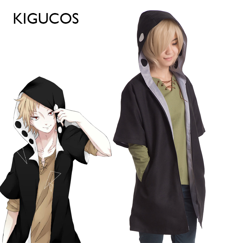 KIGUCOS KAGEROU PROJECT The Cartoon MekakuCity Actors Cosplay Costumes Kano Shuuya Outfit