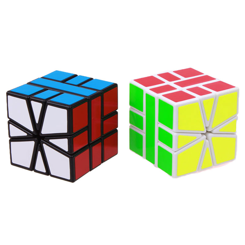 Sheng Shou Square-1 magic speed cube pendidikan profesional 3X3X3 SQ1 - Teka-teki - Foto 5