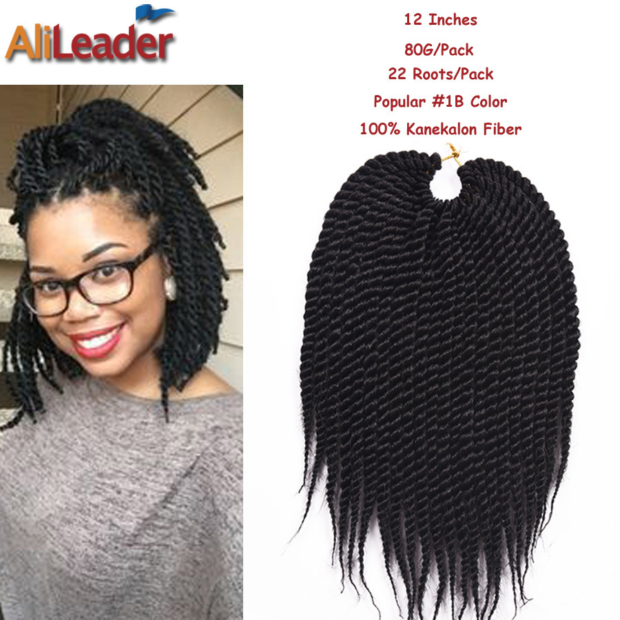Crochet Hair Packs : ... Hair Extension 22Roots/Pack 80G/Pack 12 Box Braids Crochet Braids