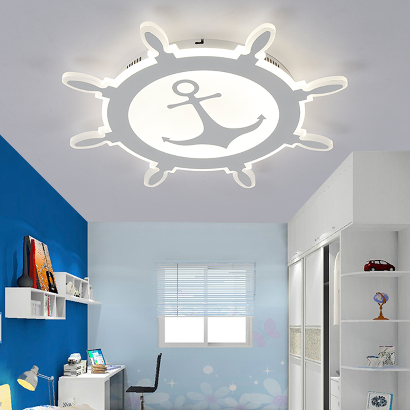 Nordic moderno sala de crianças criativo geométrico led vidro ferro luz teto iluminação para casa sala estar jantar estudo ac 110/240 v - 3