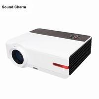 LED Projector Full hd digital video Proyector Home Theater 1280*800 Projektor Beamer support USB HDMI VGA TV AV