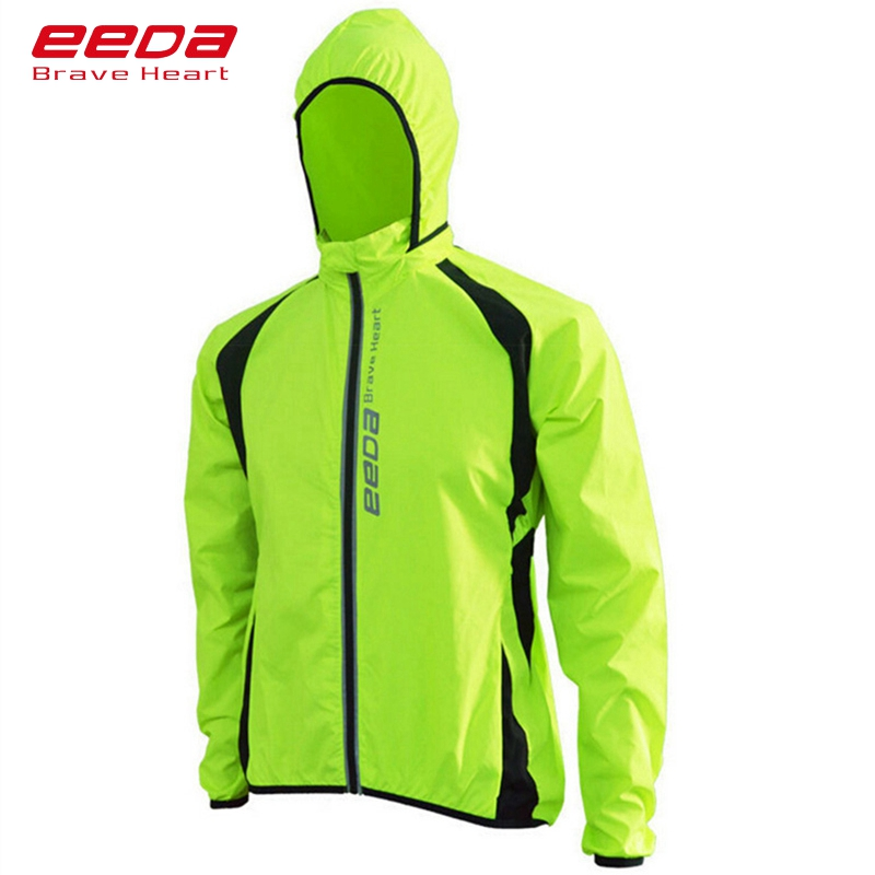 e09fff6cb רכיבה על אופניים מעילים - EEDA BRAVE HEART Cycling Jackets Windproof  Bicycle Jacket Breathable Long Sleeves Windbreaker Jersey Quick Dry Cycling  Jackets