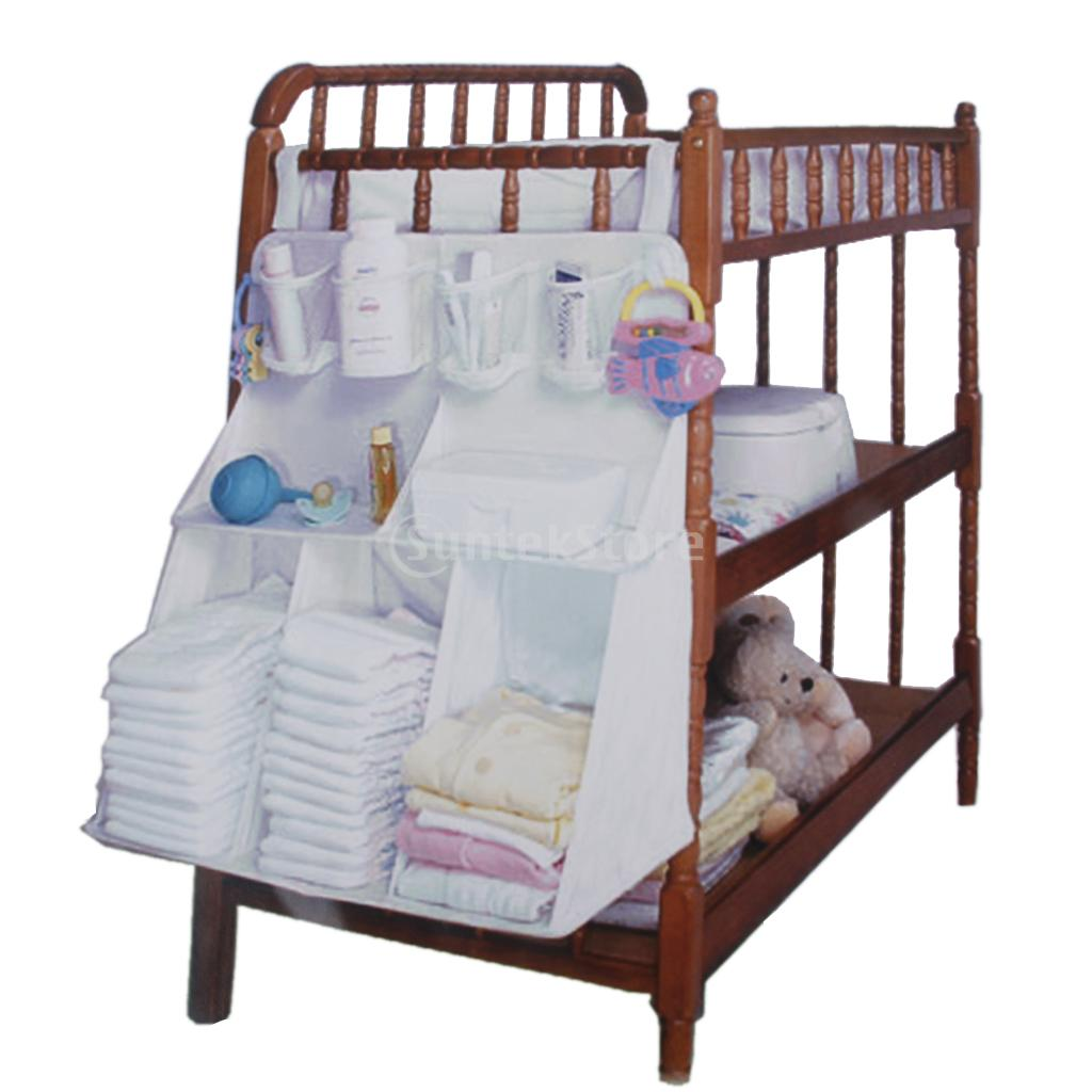 Baby cribs tulsa - Baby Bedside Waterproof Baby Bedside Bag Crib Hanging Organizer Pocket China Mainland