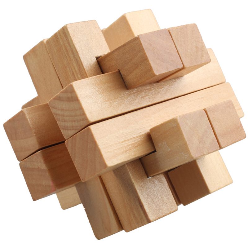 Us 286 Chinese Traditional Board Game Unique 3d Wooden Puzzles Classical Intellectual Wooden Cube Educational Family Game In Board Games From