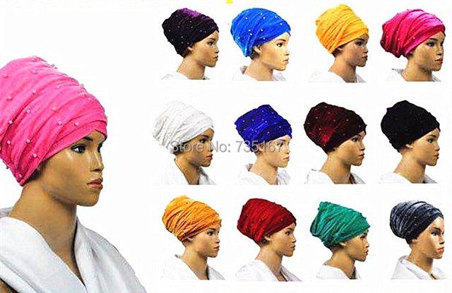 441de95f55f7f1 Samt Headwrap Frauen Earwarmers Haargummi Twist Haarband Verband hijab Kopf  Wickeln Extra Lange schlauchschal Krawatte mit
