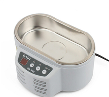 Aplicación de ultrasonidos baño de limpieza por ultrasonidos Limpiador ultrasónico Gafas joyas Herramientas de Placa de Circuito de Alimentación del bebé Juguetes