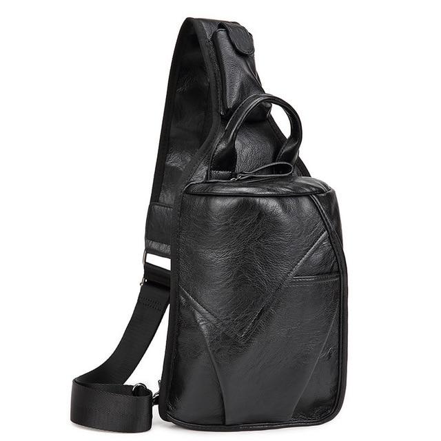 2016 Designer Bags Famous Brand Leather Chest Pack Men Crossbody ...