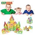 Mini diseñador magnético juguete de construcción 129 unids niños juguetes educativos ladrillos castillo enlighten bloques de construcción magnética