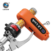 Newest 2015 Waterproof Motorbike Handlebar Scooter Security Lock Security Anti Thief Motorcycle Accessories Fits Most Scooter