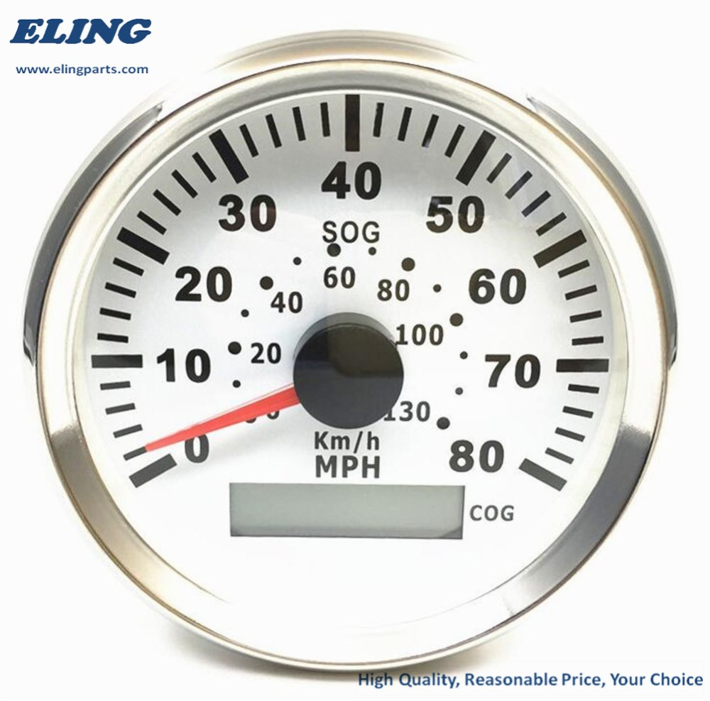 2 with Backlight ELING Digital Tachometer RPM Gauge with Hour ...