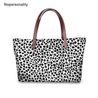 Nopersonality Leopard Print Ladies Handbags Hign Quality Girls Travel Large Capacity Tote With Wallets Bolsas Mujer Female