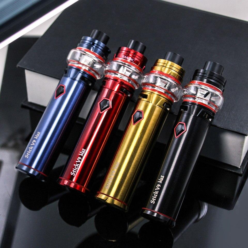 Original SMOK Stick V9 Max Kit 4000 mah 8.5 ml V9 Max réservoir S1 S2 bobine électronique Cigarette Vape Kit VS bâton V8 Prince Vape stylo 22