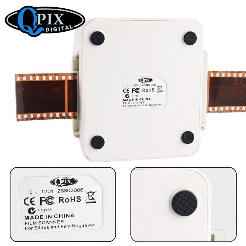 Portable 35mm Slide Négatif Scanner Scanner de Film Résolution 22 Mega Pixels 110 135 126KPK Numérique Film Convertisseur avec 2.4