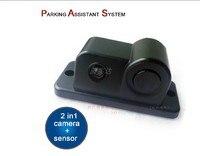 new video parking sensor 2 in 1 camera + parking sensor reversing radar video system no drill