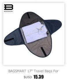 Bolsa de Viagem Bagagem Preto Para Camisas