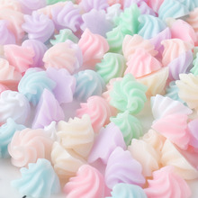 10pcs Mini Slime DIY Accessories Toy Flower Supplies Filler for Fluffy Clear Decoration Gift
