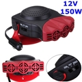 12V 150W 2 in 1 Car Vehicle Heater Heating Cool Fan Windscreen Demister DEFROSTER