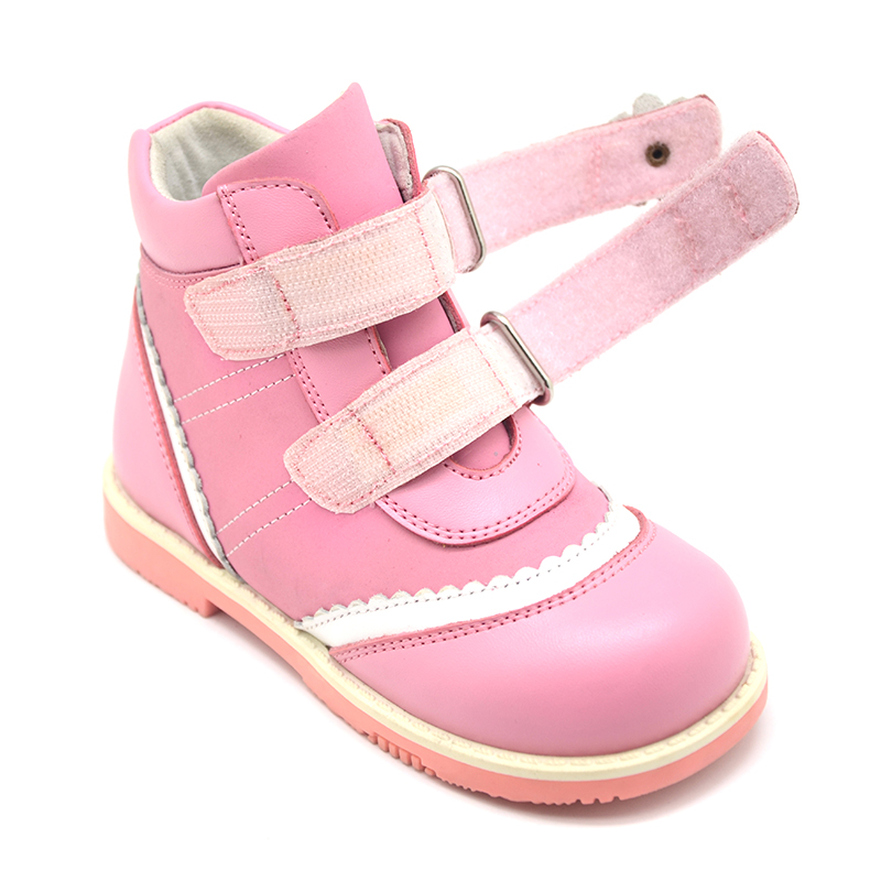 Princepard Need Customize in Advance 20 days pink beige flats orthopedic Shoes for girl Sneakers Childrens casual shoes