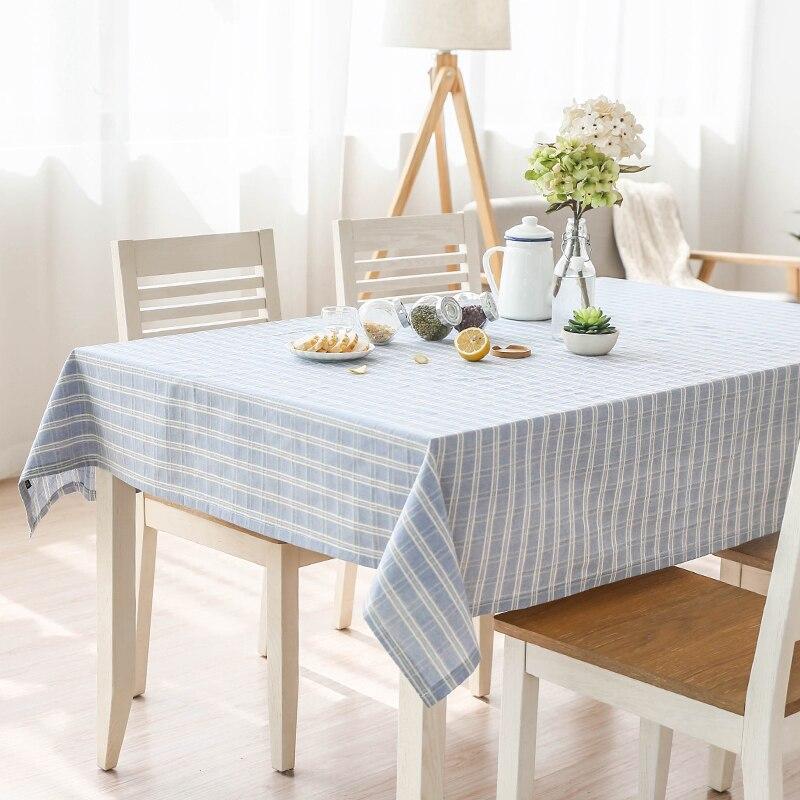 Free Shipping Modern Minimalist Cotton Tablecloths