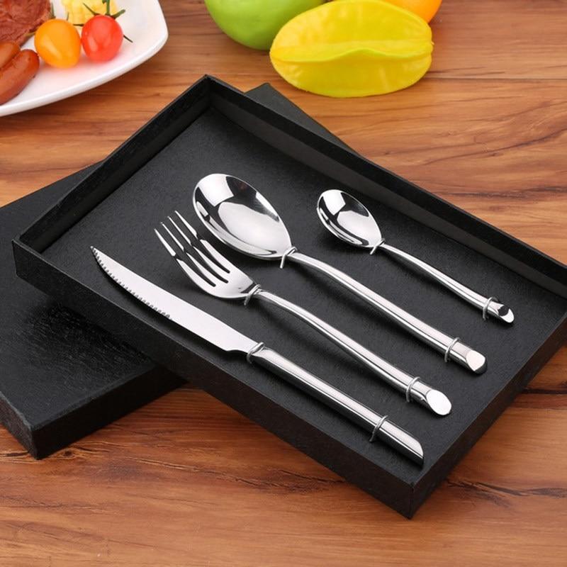 KTL 24 copë / Set Set Darkerware BlackBerry 304 Stainless Steel - Kuzhinë, ngrënie dhe bar - Foto 6
