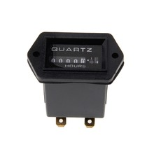 QILEJVS New DC10V-80V Generator Sealed Hour Meter Counter For Boats Trucks Tractors Cars(China)
