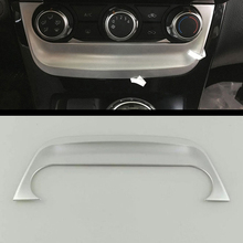 3pcs red car air conditioner switch cover for jeep wrangler 2008 2014 auto air conditioner button ring interior car styling 2016 2017 2018 Car Air Conditioner Switch Panel Cover Trim Shell Interior Accessories ABS Matte Car Styling for Nissan Sentra