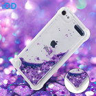 IQD For iPod Touch 6 5 Case Soft Glitter Love Heart Quicksand For Apple Ipod Touch 5 6 Cover Rhinestone Cases Flowing Girls like