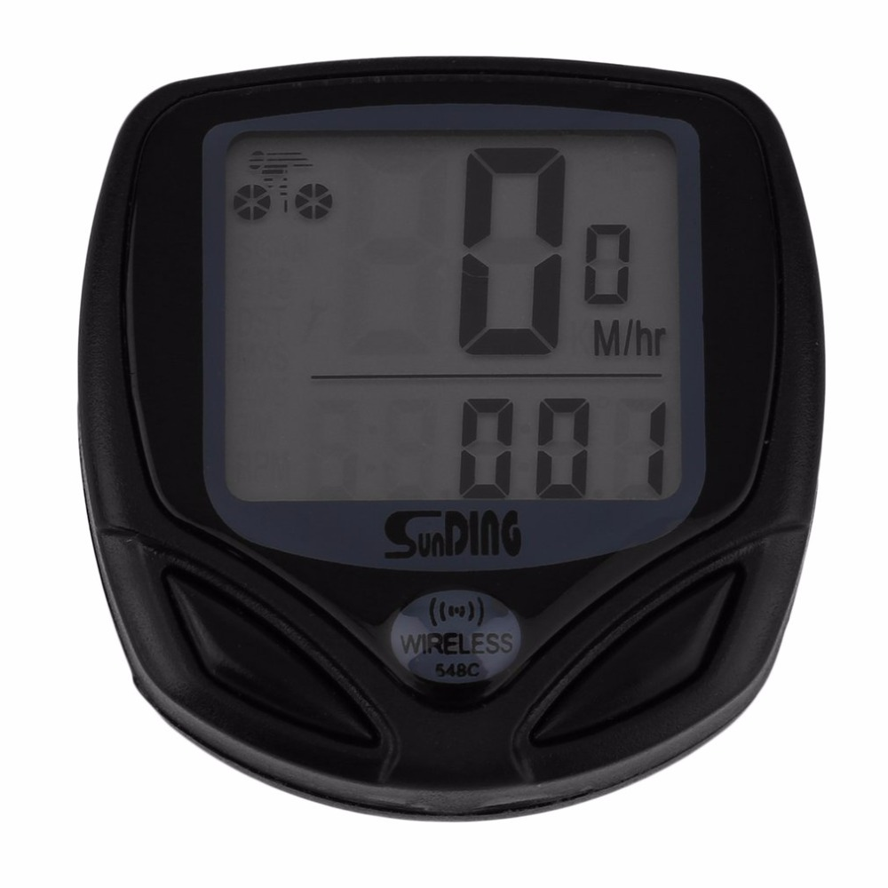 1 Set Bicycle Speedometer <font><b>Bike</b></font> Cycle Computer Wireless Cycling Computer Bicycle Speed <font><b>Bike</b></font> <font><b>Power</b></font> <font><b>Meter</b></font> image