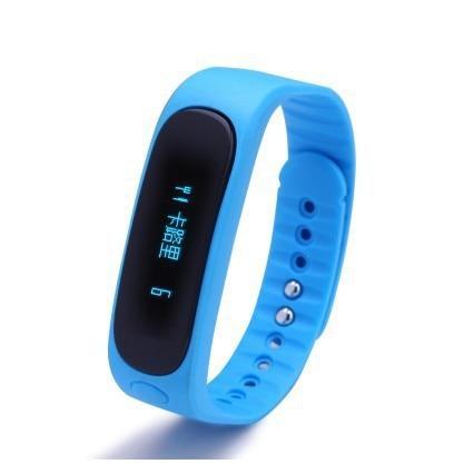 Symrun Smart Wristband E02 Sports Sleep Tracking Bracelet Fitness Tracker Smartband Call Message Remind Anti Lost