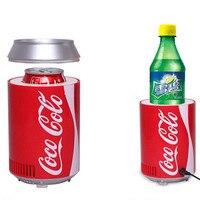 DC5V USB Mini Refrigerator Portable Mini USB Car Fridge Cooler For Office Home Dormitory Travelling Cooler