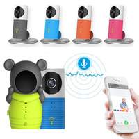 Free Shipping Brand Wireless Wifi Smart Camera Baby Monitor Motion Detection Voice Intercom