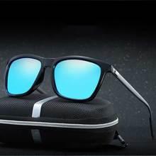 HD Polarizado gafas de Sol Cuadradas Mujeres Marca de Diseño de Metal Patrón de La Vendimia Gafas de Sol de Los Hombres Gafas Gafas Gafas De Sol Feminino