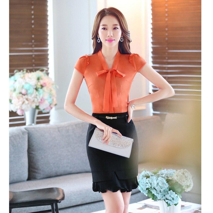 7c638d2c516 ladies orange tops