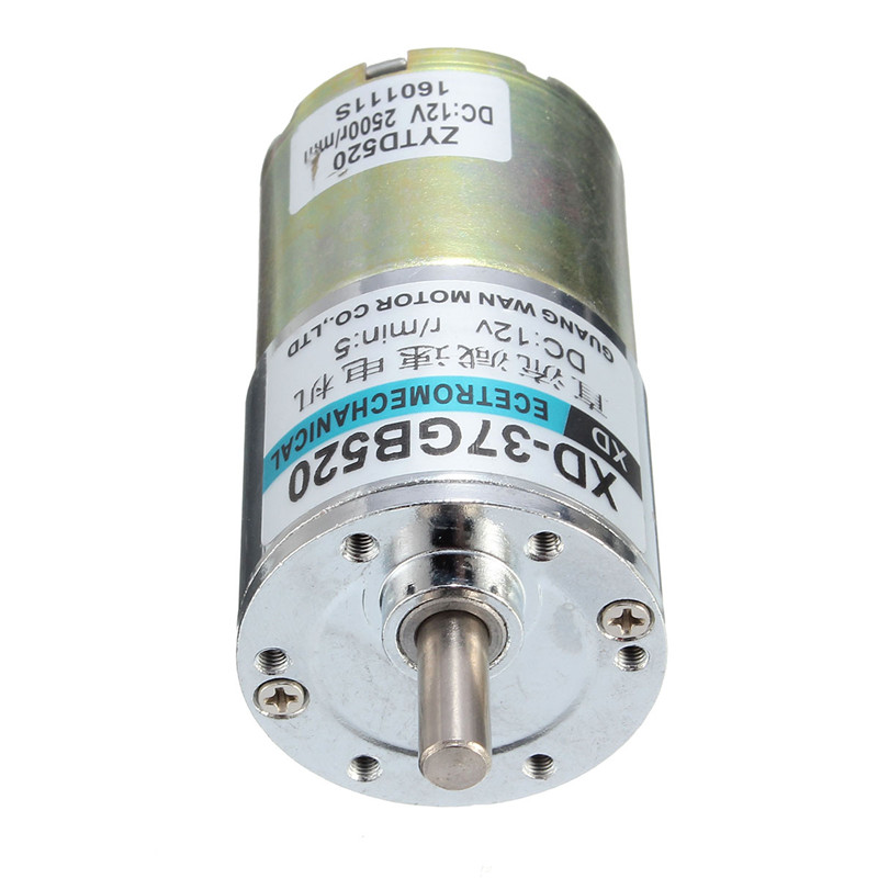 newest details about dc 12v 5rpm electric gear motor speed
