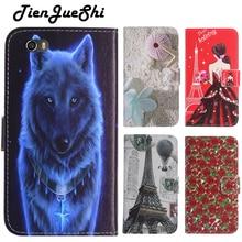 TienJueShi moda Flip kitap tasarım koruma deri kılıf kabuk cüzdan Etui kılıf Nuu M2 5 inç