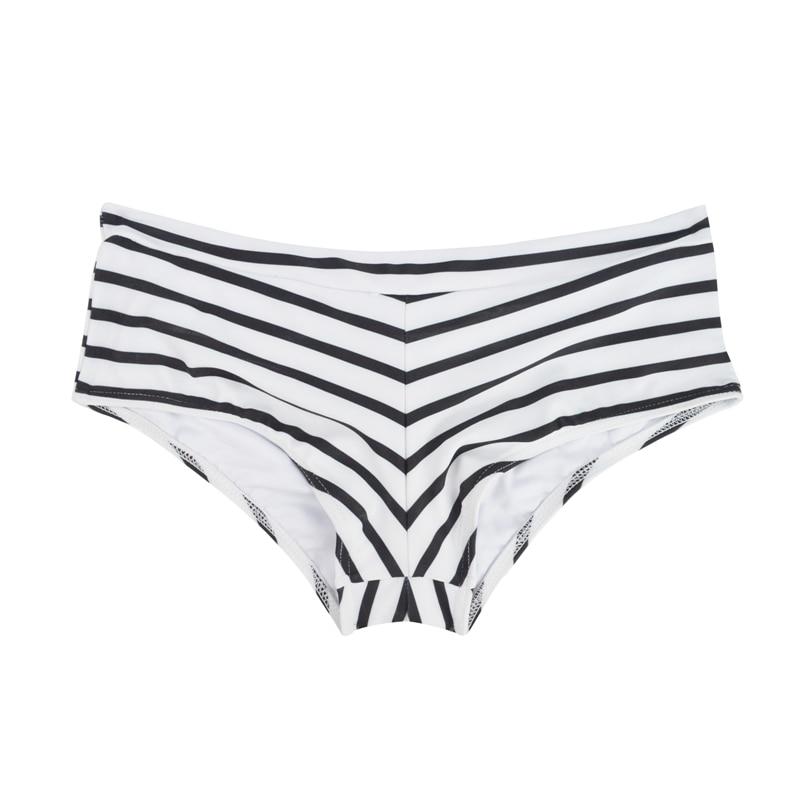 Летний женский спортивный купальный костюм, брюки, одежда для плавания, купальник с заниженной талией, сексуальные плавки для девочек с принтом, B605 - Цвет: B605M