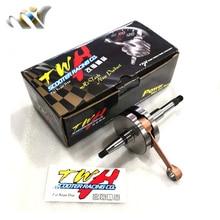 TWH полностью закрытый коленчатый вал высокого качества для HONDA DIO AF17 AF18 AF27 AF28 SP SR DIO50 43,2 мм+ 1,8 44 мм+ 2,6 52,4 мм+ 3,0