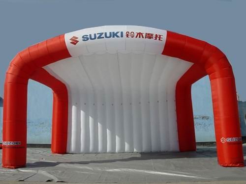 TT03 Advertising inflatable Event/Geers Tent Oxford/inflatable car tent,large inflatable booth 8m *6m  Free Reapir kits