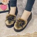 2016 new warm soft floor only female slippers / Pop European winter warm shoes 36-40 sli