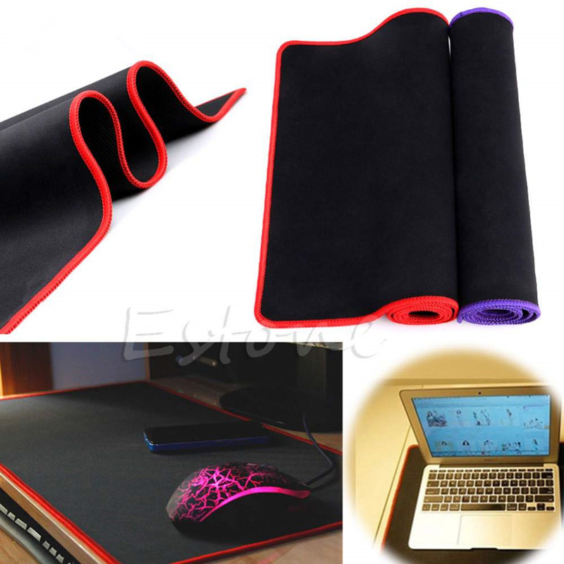 700*300*2MM Large size Speed Mouse Pad Gaming Computer Rubber Sift Simple Surface Pro Mat Keyboard Blue for PC Laptop ...