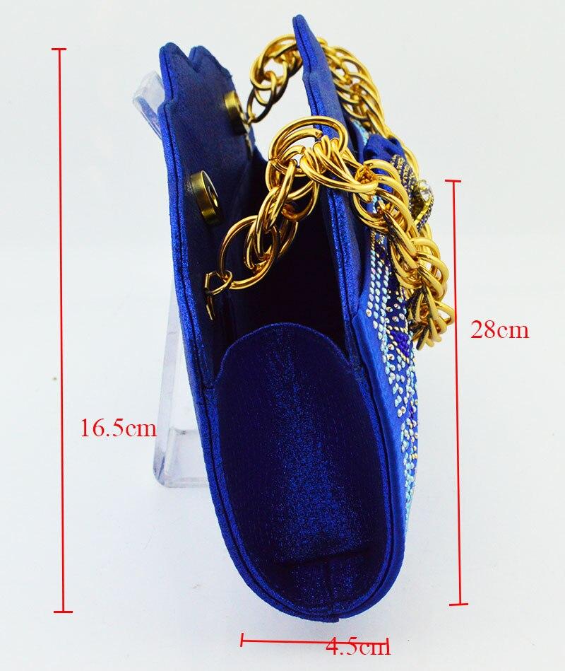 ใหม่มาถึงสีม่วงแอฟริกันผู้หญิงจับคู่อิตาเลี่ยนรองเท้าและกระเป๋าชุดตกแต่งด้วย Rhinestone อิตาเลี่ยนสุภาพสตรีรองเท้า MM1083-ใน รองเท้าส้นสูงสตรี จาก รองเท้า บน   2